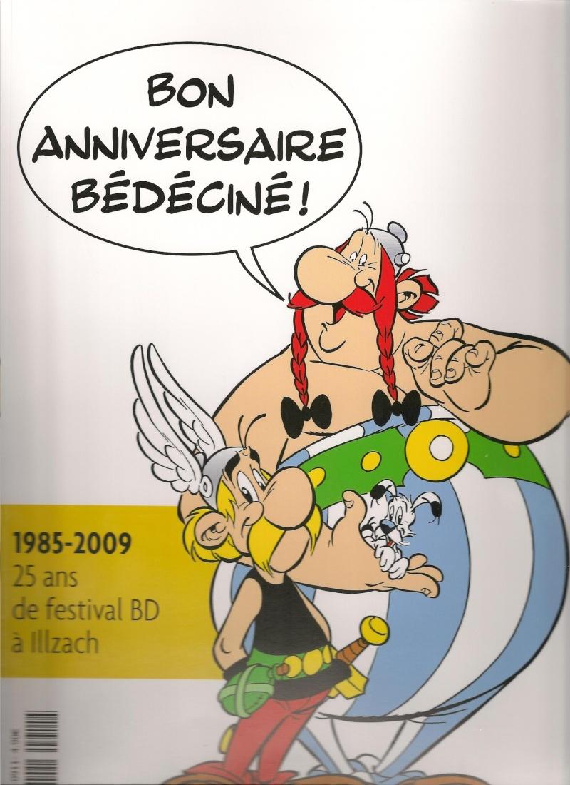 """hors série du journal """"L'Alsace Le Pays"""" sur les 25 ans du festival Bédéciné à Illzach Numari10"""