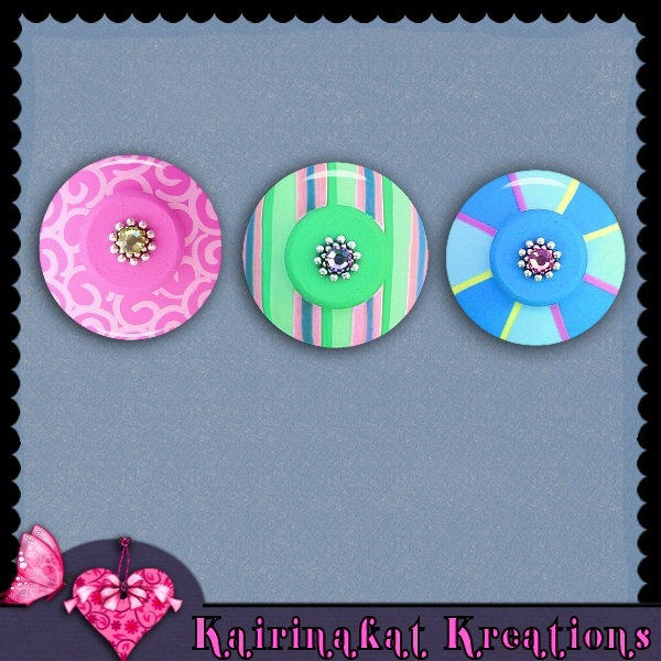 Painted Buttons Freebi13