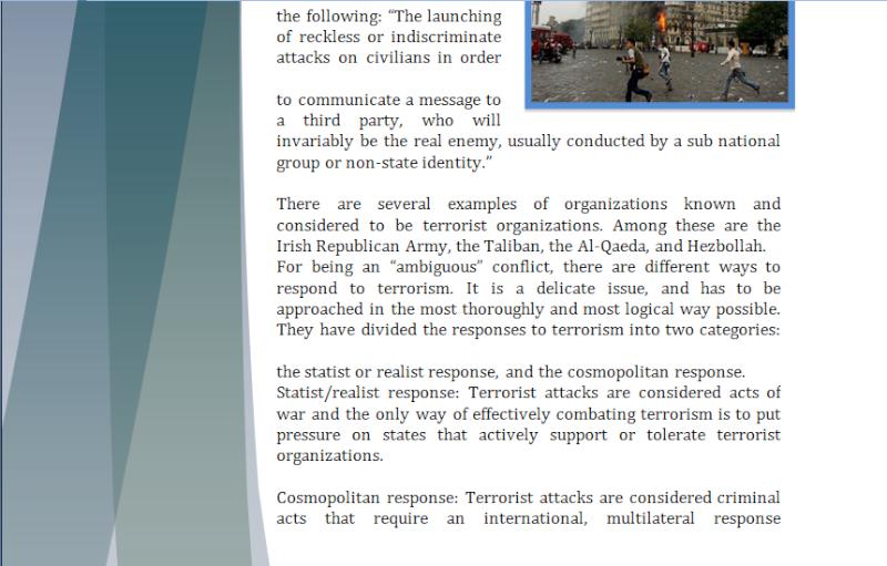 Asia Study Guide - Question of International Terrorism Terror11