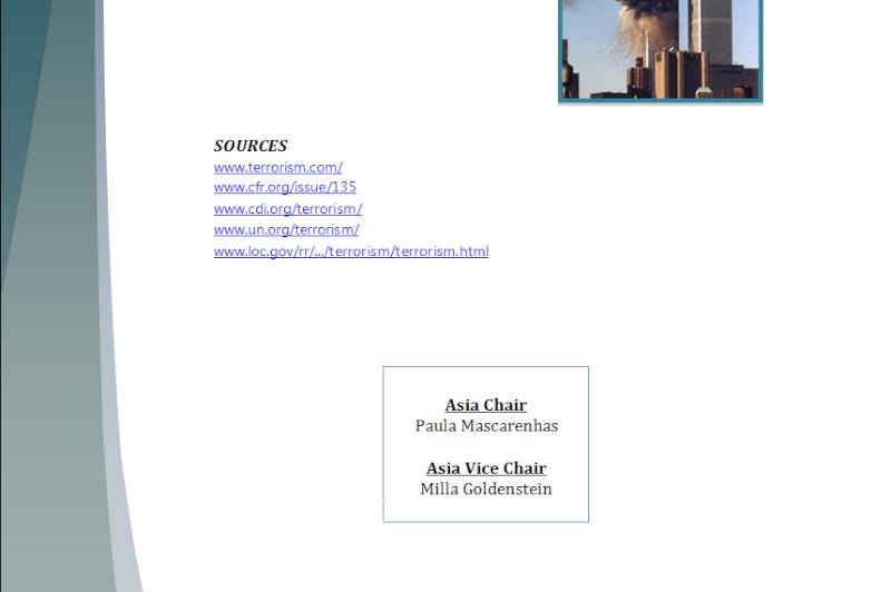 Asia Study Guide - Question of International Terrorism Terror15
