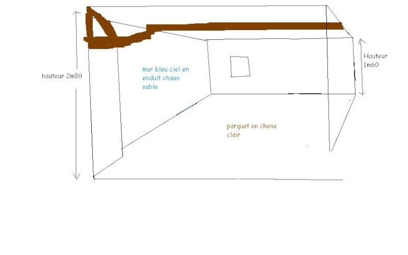 Besoin d'aide pour peinture d'une chambre mansardée Chambr10