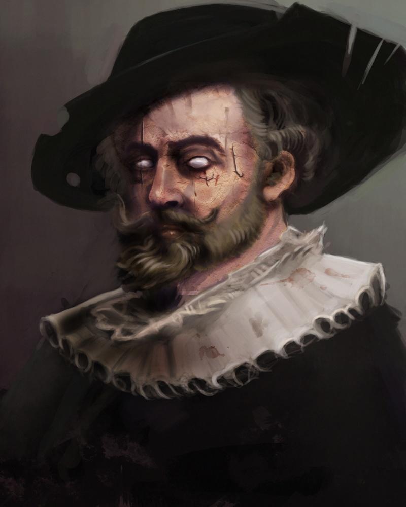 Hodr painting Zombie11