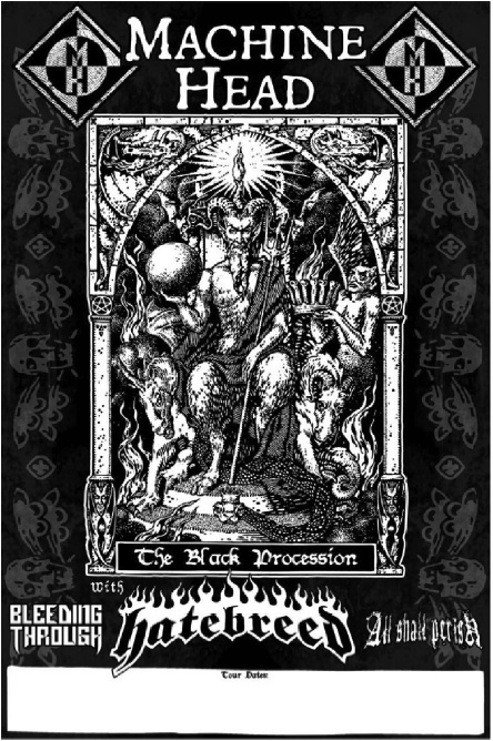 MACHINE HEAD + All Shall Perish + Hatebreed + Bleeding Through L_f60710
