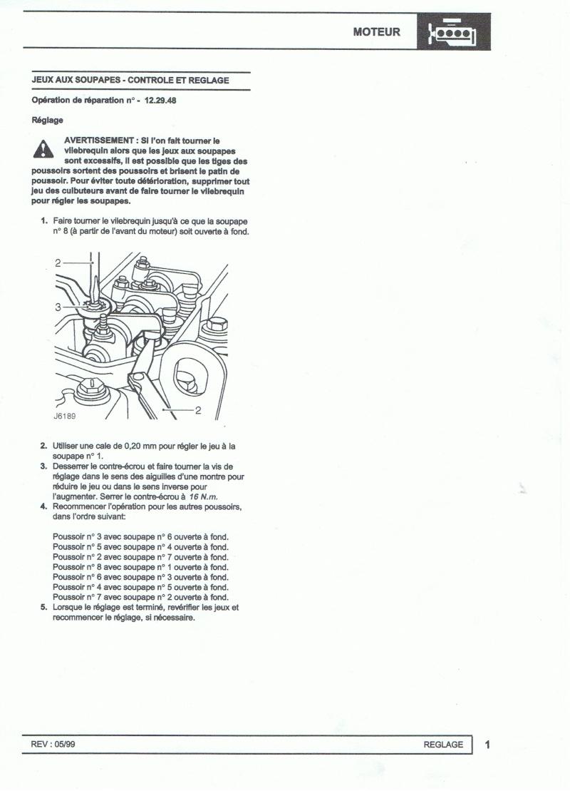 Réglage culbuteurs moteur 300 Tdi Ccf17010