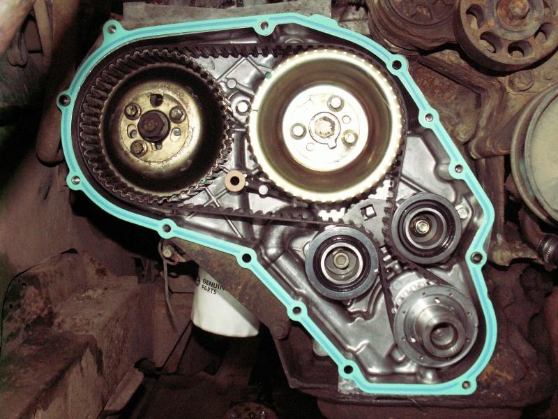 Distribution sur Defender moteur 300Tdi Pict0812