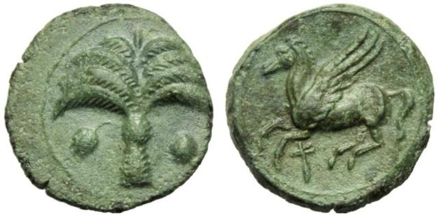 Monnaie carthaginoise (suite de mon incursion en Afrique) _330_c10