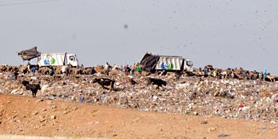 Décharge contrôlée de Casablanca : le chantier traîne encore Dechar10