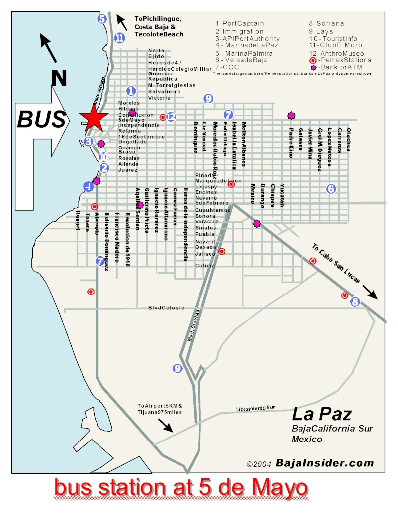 bus from cabo to Lapaz and bus from TJ to LAP Bus_st10