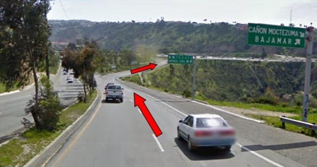 south to ensenada from TJ crossing San Ysidro Downhi10