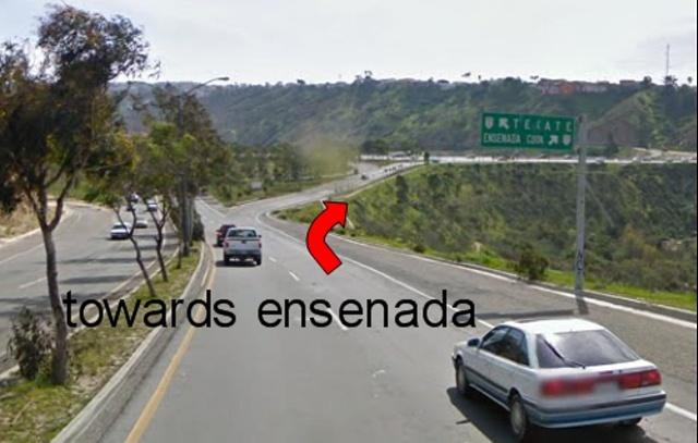 south to ensenada from TJ crossing San Ysidro Downhi11