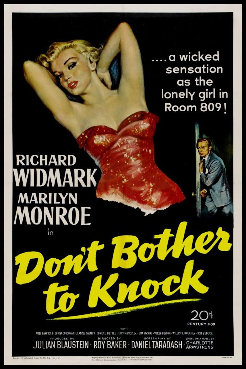 Ne Moraš Da Kucaš (Don't Bother to Knock) (1952) 195110