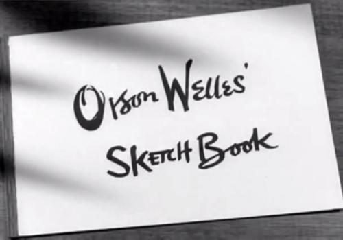 Orson Welles' Sketch Book (1955) Orson-10