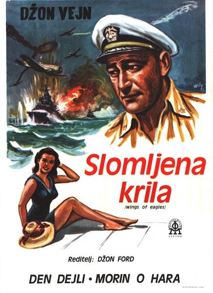 Krila Orlova (Slomljena Krila) (The Wings of Eagles) (1957) Slomlj10