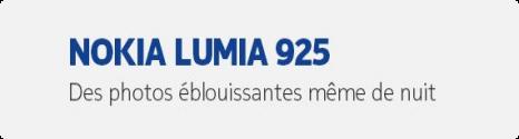 Le Nokia Lumia 925 disponible dans la boutique Bouygues Telecom 13715810