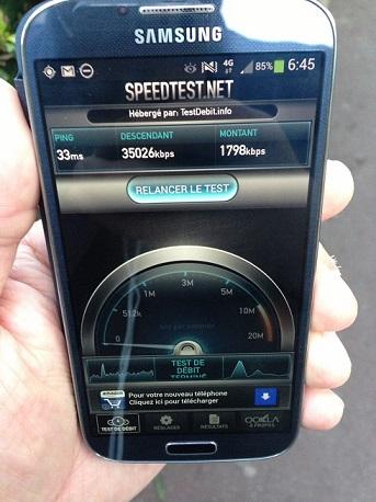 Mes débuts sur la 4G de Bouygues Telecom, avec un Galaxy S4 et Xperia Z 1testi12