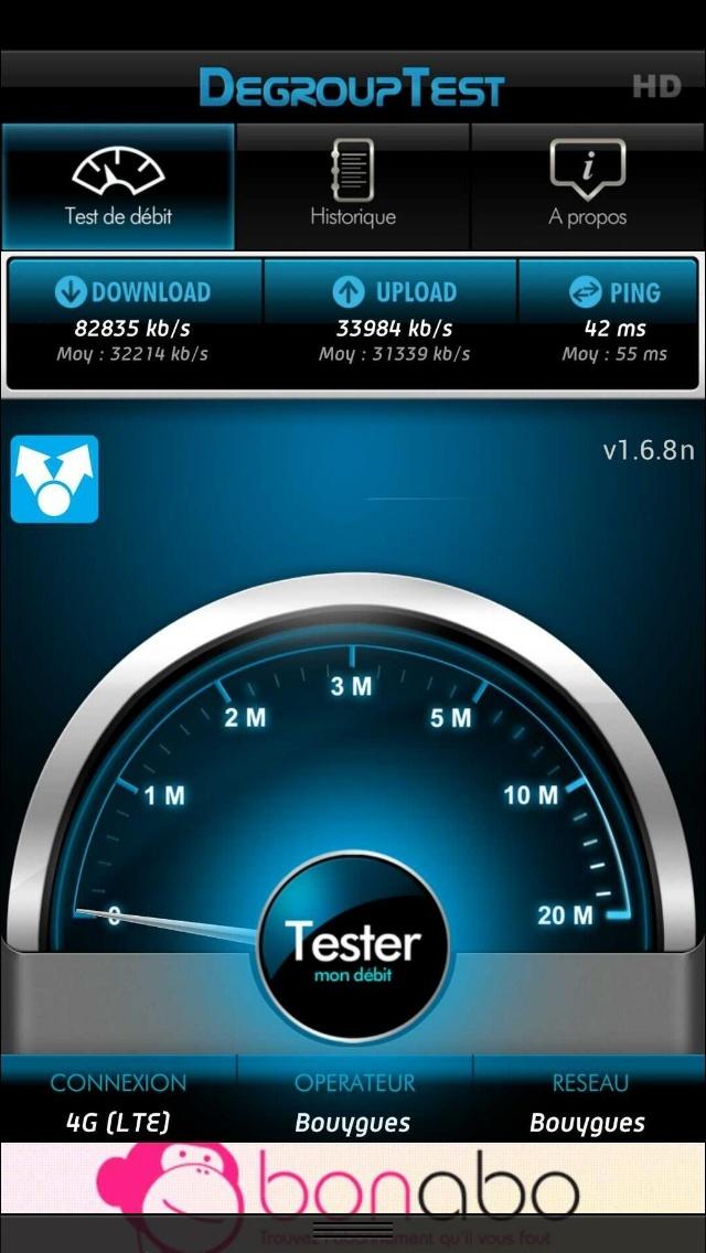 Mes débuts sur la 4G de Bouygues Telecom, avec un Galaxy S4 et Xperia Z 4test_10