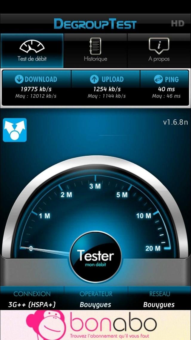 Mes débuts sur la 4G de Bouygues Telecom, avec un Galaxy S4 et Xperia Z H10