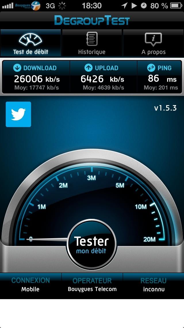Mes débuts sur la 4G de Bouygues Telecom, avec un Galaxy S4 et Xperia Z Partag10