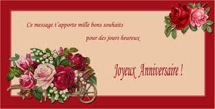 bonne anniversaire ma belle fleure Images11