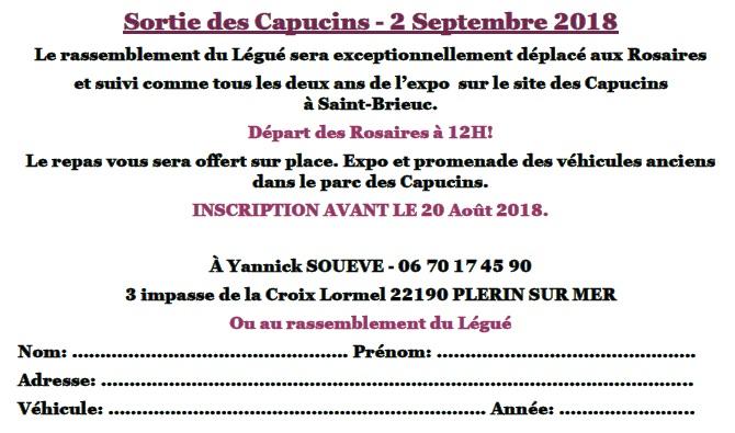 Sortie des Capucins - 2 Septembre 2018. Capuci10