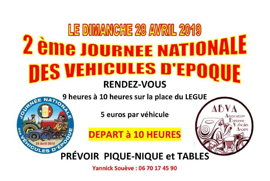 Journée nationale véhicule d'époque - 28 Avril 2019. Journz10