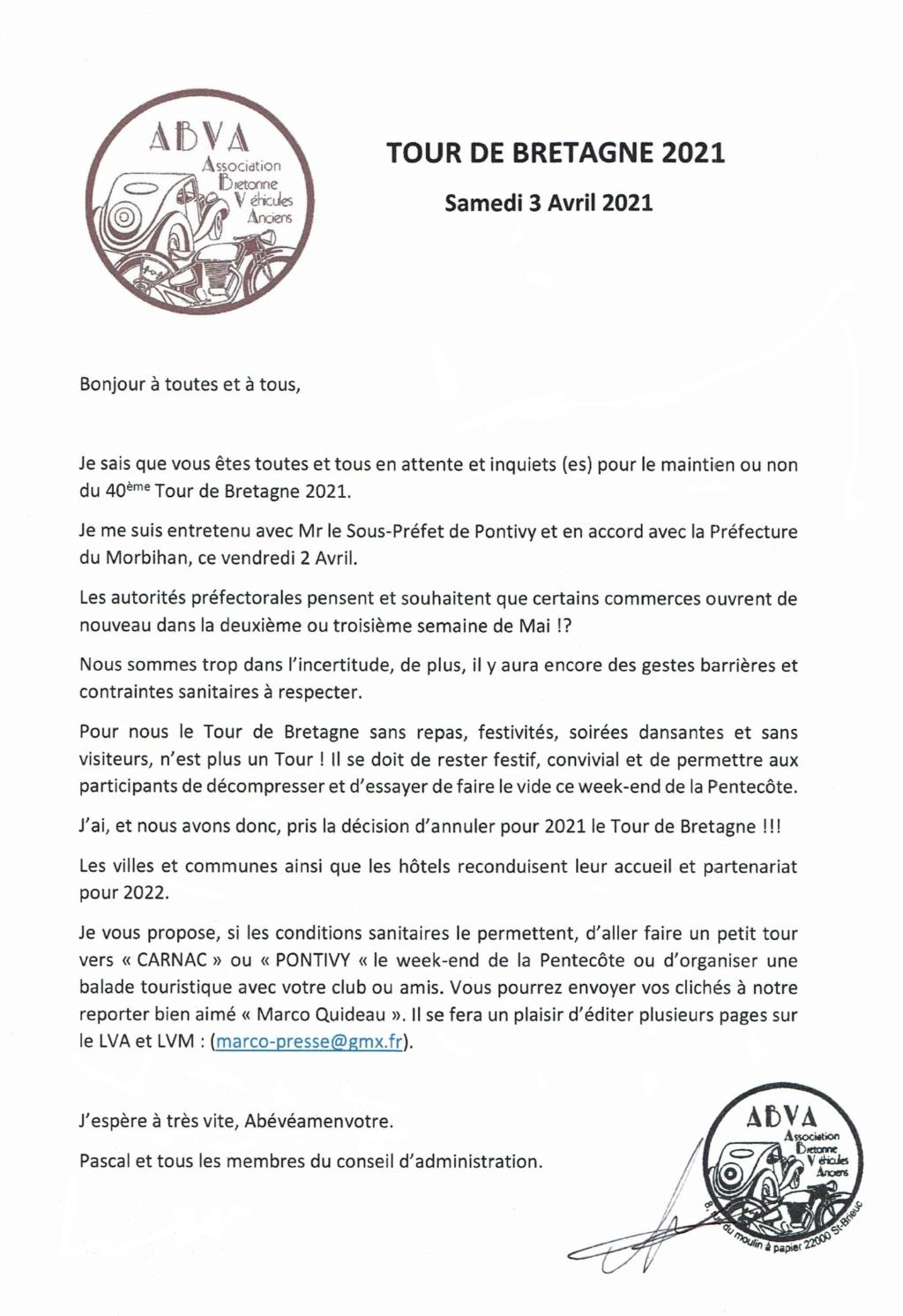 Tour de Bretagne 2021 [ANNULE]. Lettre11