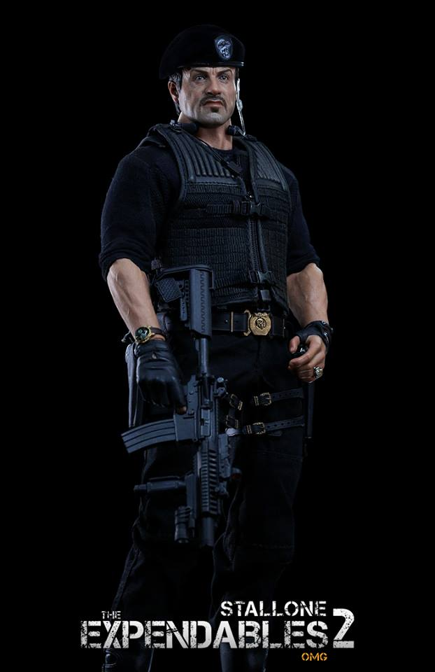 """HOTTOYS (figurine 12"""" THE EXPENDABLES) - Page 7 29553210"""