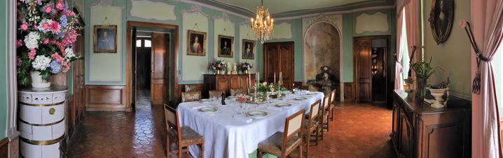 Le château de Longpra (Isère) Salle_10