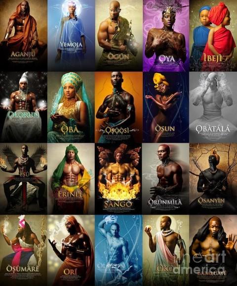 MYTHOLOGIE AFRICAINE Yoruba10