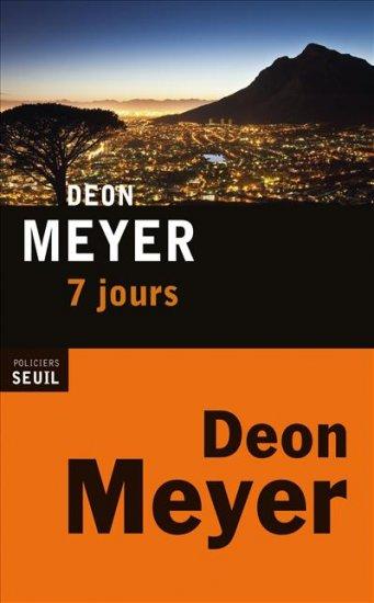 meyer - Deon Meyer [Afrique du Sud] 97820210
