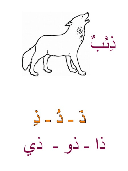 Alphabet arabe suite Ooo12
