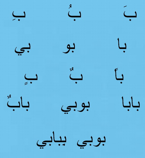 Lalphabet Arabe Ouous10