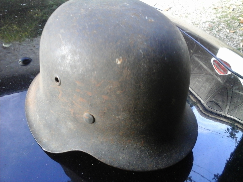 casque allemand ww2 luftwaffe  20180641