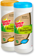 Scotch-Brite Botanical Disinfecting Wipes Produc10