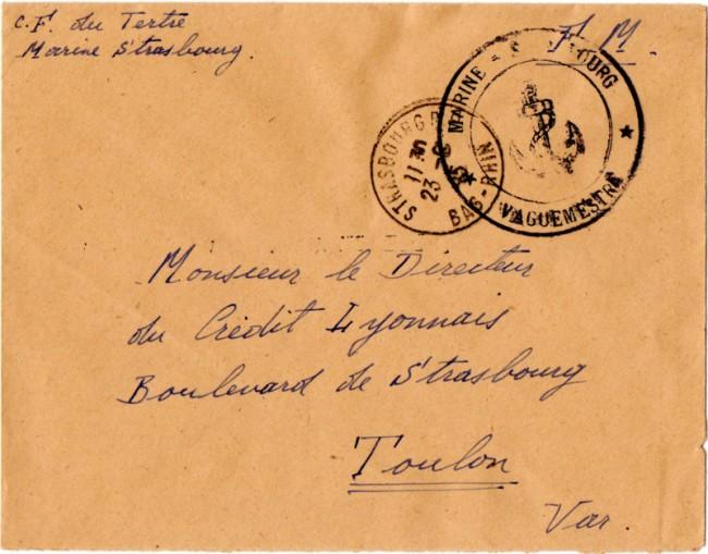 Une petite ( ou grande ) découverte en Poste Navale et CP 1945_m10