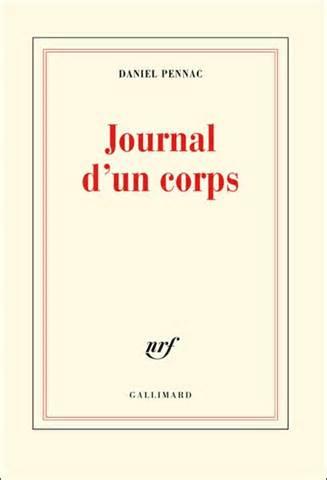[Pennac, Daniel] Journal d'un corps Pennac10
