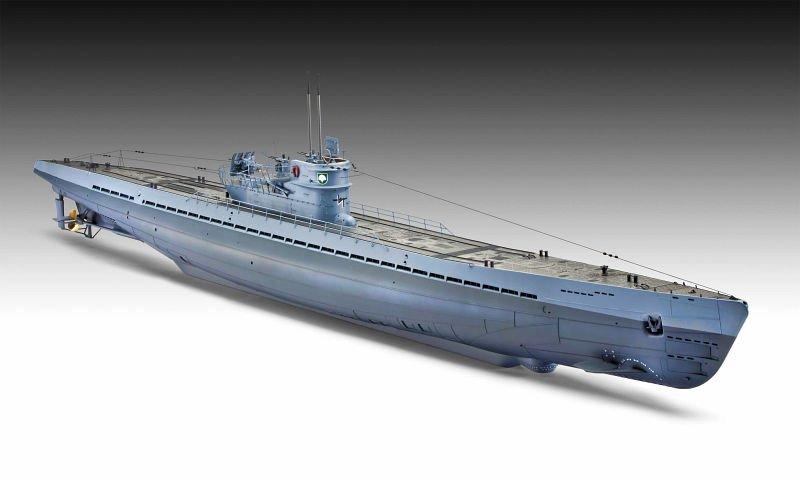 Revell U-Boot type IXC au 1/72ème Revell10