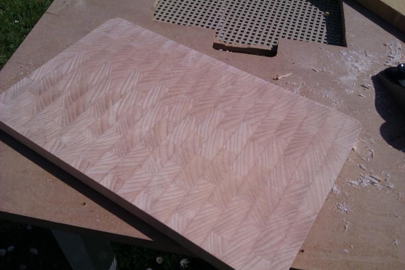 Planche à découper en bois de bout Imag1612