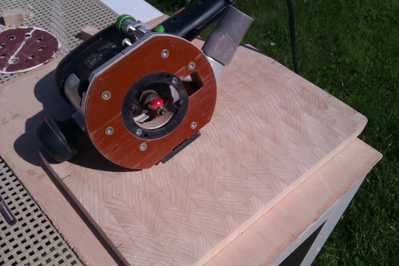 Planche à découper en bois de bout Imag1613