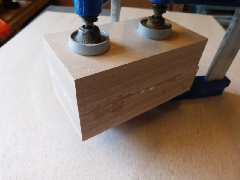 [Fabrication] Scie à ruban en bois P1040419