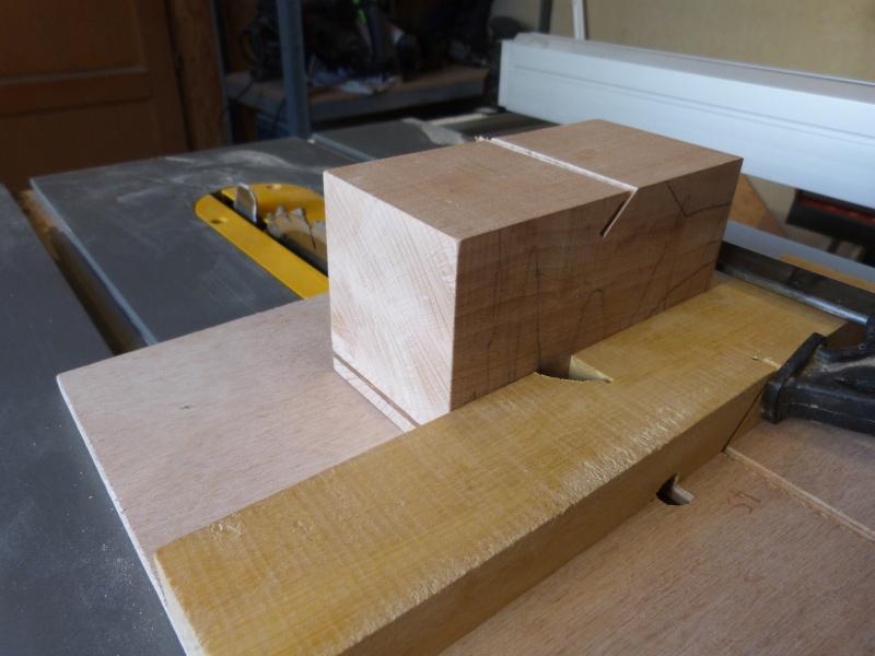 [Fabrication] Scie à ruban en bois P1040424