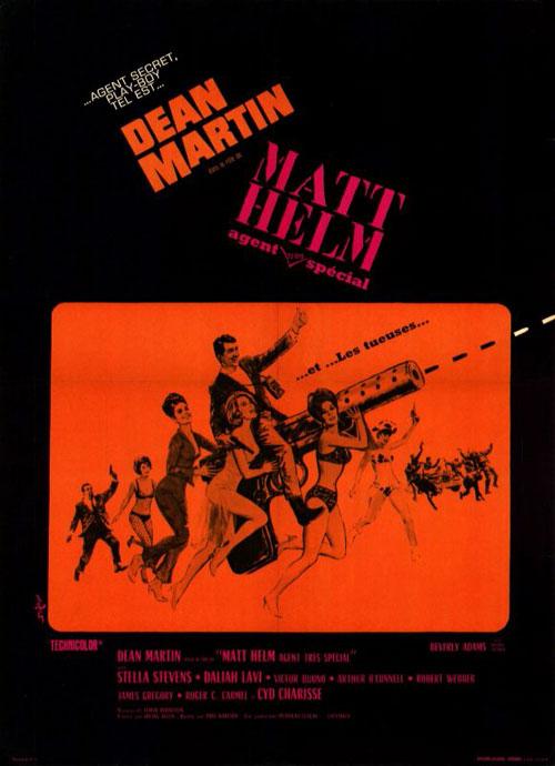 Matt Helm, agent très spécial- The Silencers - 1966 - Phil Karlson Affich10