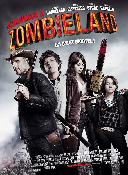 Bienvenue à Zombieland - Zombieland - 2009 - Ruben Fleischer Affich13