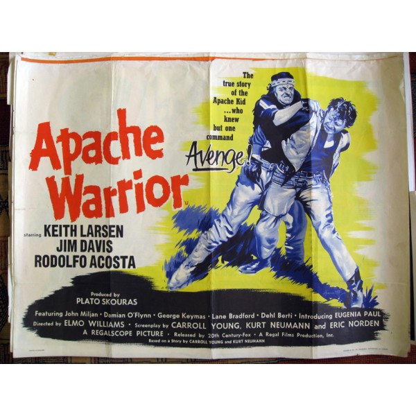 Chasseurs de scalps- Apache Warriors - 1957- Elmo Williams Apache11