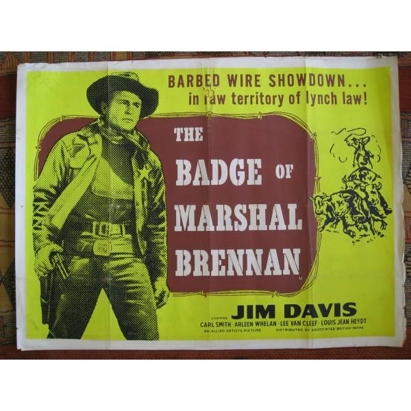 The Badge of Marshall Brennan- 1957 - Albert Gannaway Badge-10