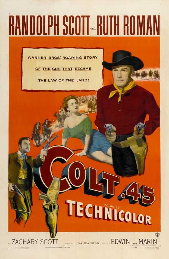 Colt 45 - 1950 - Edwin Marin  Colt4510