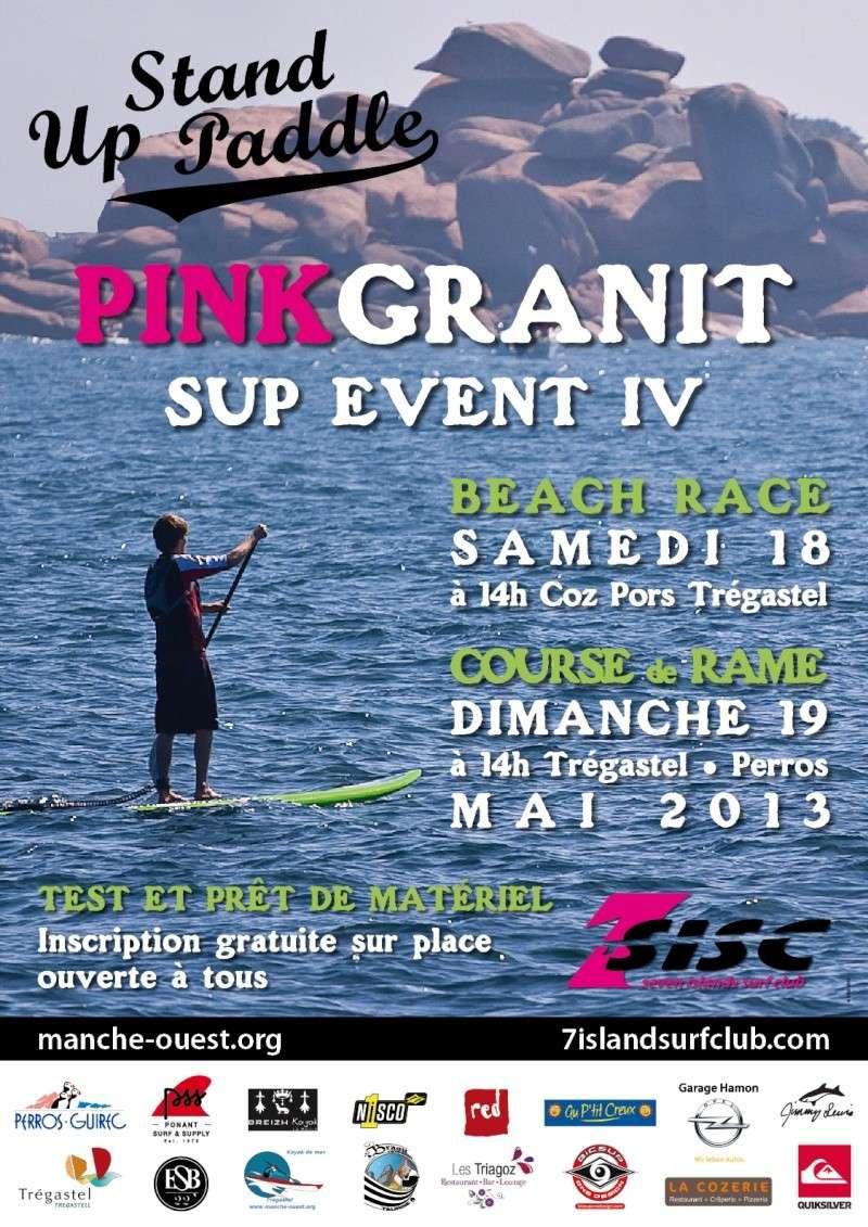 Pink granit sup event : tregastel 18/19 mai 2013 Affich10