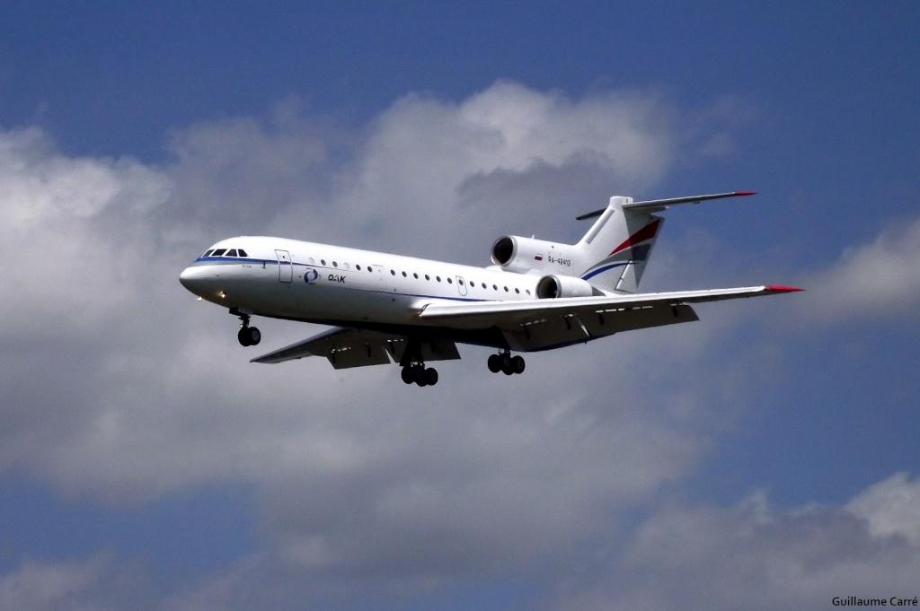 Les exclusivités sur Bordeaux-Mérignac, les plus beaux avions Dscf0510