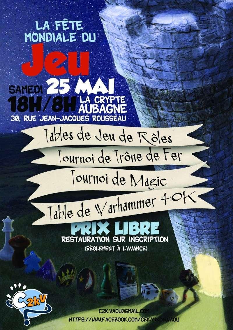 La nuit du jeu pour la Fête Mondiale du Jeu (25/05/13) Affich10