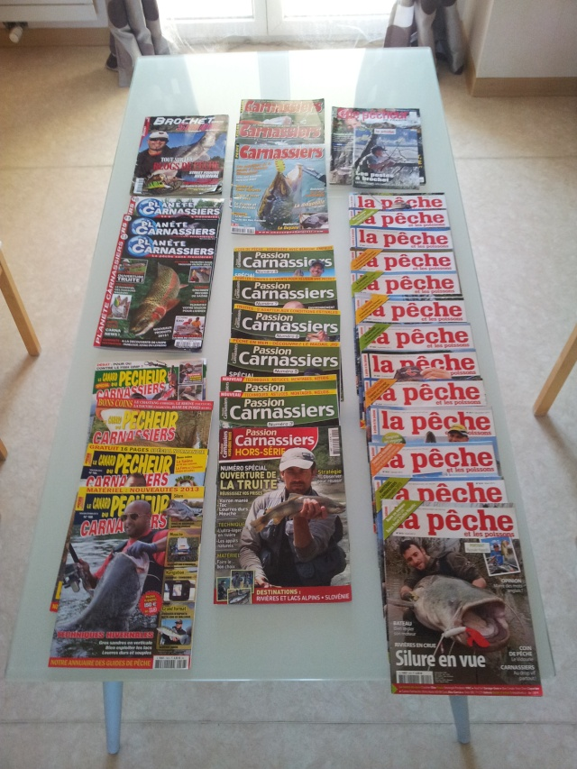 magazines de pêche 20130411